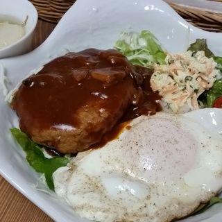 ロコモコランチ(ONBO CAFE 385)