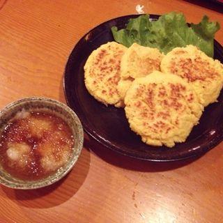 豆腐と沖縄麩のハンバーグ(島想い)