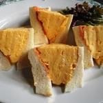 コロナの玉子サンドイッチ(喫茶マドラグ )