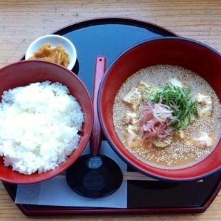 冷や汁定食(KONNE (こんね))