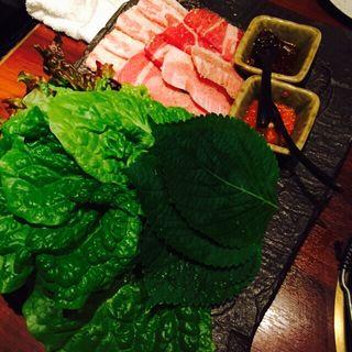 包み野菜の盛り合わせ(十々 西麻布店 (ジュウジュウ))