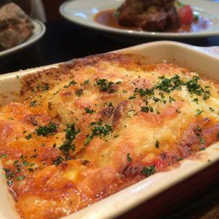 茄子とミートソースのボローニャ風ラザニア(欧風小皿料理 沢村 )