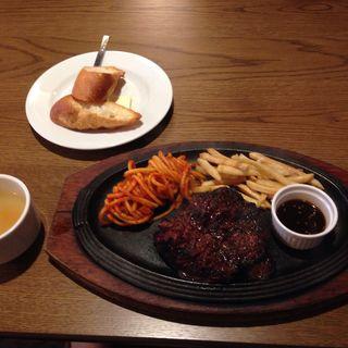 ハラミステーキランチ(肉食酒場 GYUTA MEAT BAL)