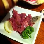 牛タンスモークスライス(牛たん炭火焼 吉次 鰻谷店)
