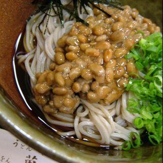 納豆そば(祇をん萬屋)