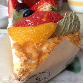 旬の果実のタルト