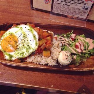 夏野菜たっぷりのラタトゥイユロコ SET(ビッグアイランドカフェ (Big Island Café))