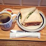 サンドイッチセット(スモークチキンサンド)