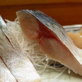 その日の鯖を使ったメニュー(鮨大前 (すしだいぜん))