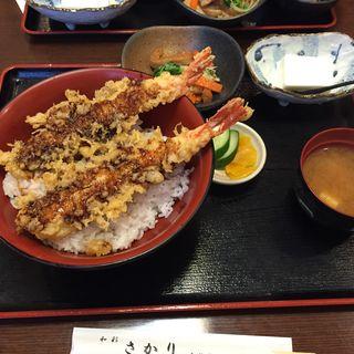 特大海老天丼(和彩さかり)