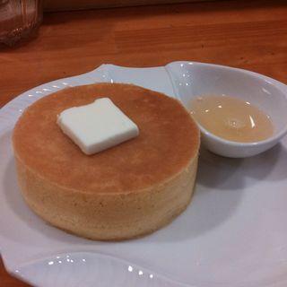 発酵バターパンケーキ ミカン蜂蜜添え(雪ノ下工房 )