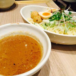 濃厚魚介鶏つけ麺(麺屋 越鶏)