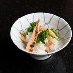 焼き筍ご飯(満る川 (まるかわ))