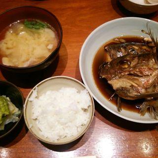 煮魚定食(魚匠 銀平(大阪北新地店))