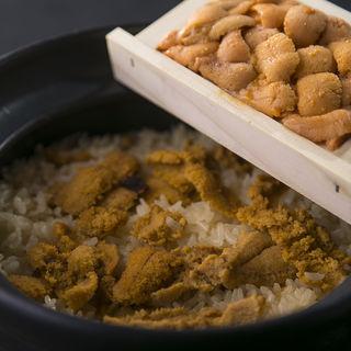 豪快雲丹土鍋 ウニ板(ゆるり )
