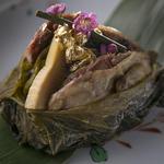 鶏肉と筍のグリル(ゆるり )