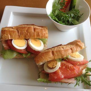 バケットBLT(organic cafe sunpo)