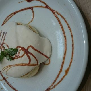 メイプルクリームパンケーキ(ハーフサイズ)(RICH)
