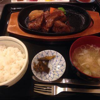 那須和牛おすすめサイコロステーキ(ステーキハウス寿楽本店)