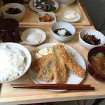 秋刀魚フライ定食