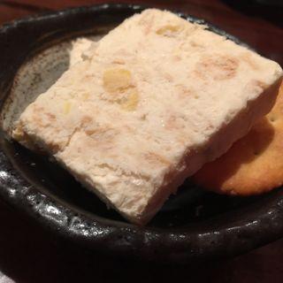 チーズケーキアイス(琉球酒場くわち家)
