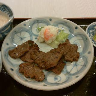 じょっぱり定食 ( 炭焼き牛たん 仙台 なとり  )