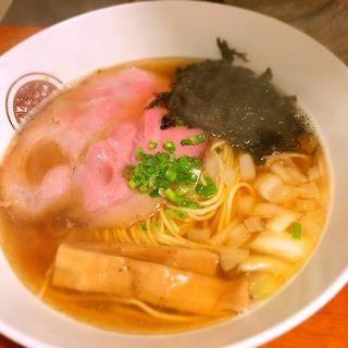 煮干魚介らぁ麺(らぁ麺 とうひち )