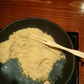 葛もち(柿の葉寿司 やっこ )