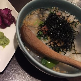 明太子茶漬け(nippon style dining 栞屋 (ニッポンスタイルダイニング・シオリヤ))