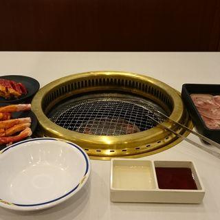 平日ランチ食べ放題コース(じゅうじゅうカルビ 加古川店)