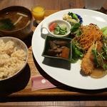 健康プレート(南高梅のしそおろしおからカツ)(ナトゥーラ・ナトゥーラ 神戸ハーバーランドumie店)