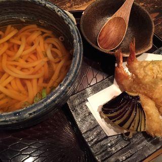 季節の天ぷらうどん(ほっとけや 京都ホテルオークラ店 )