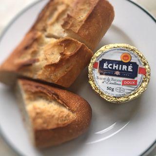 仏 エシレ産バター 無塩(オー バカナル 銀座 (AUX BACCHANALES))
