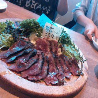 サーロインの熟成肉 黒毛和牛 100g (ジャイアン 幕張本郷 )