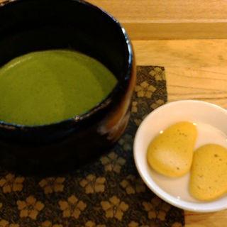 抹茶(茶庭 然花抄院)