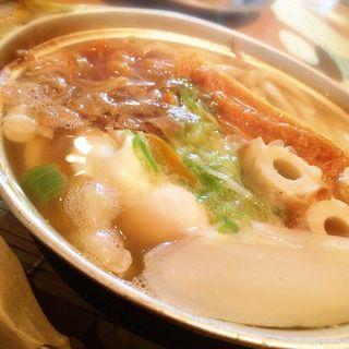 特製鍋焼きうどん(山半 本店 )