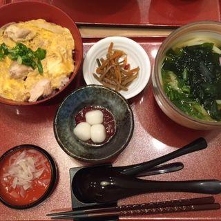 親子丼セット(冨士屋 天王寺MIOプラザ館店 )