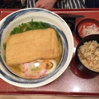 きつねうどん定食(冨士屋 天王寺MIOプラザ館店 )