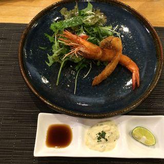 海老と松茸のフライ(キッチンしまだ )