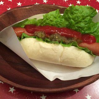 メガホットドック(PAN TIME  burger PT's)