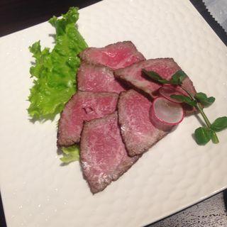 ローストビーフの燻製(肉の楽園 )