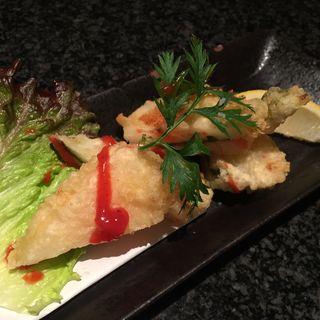 山芋梅しそはさみ揚げ(Foods bar 栞屋 (フーズバー シオリヤ))