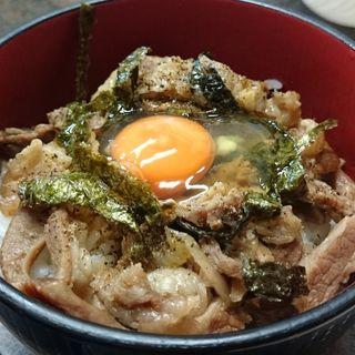 牛すじ丼(もりや )