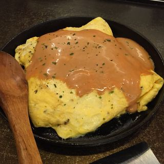 ふんわりオムレツチーズ(錦わらい 錦本店 (にしきわらい))