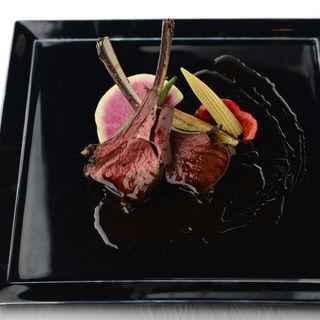 ラム肉のグリル(アンジェパティオ (Angepatio))