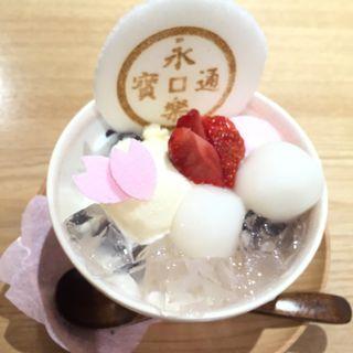 季節のパフェ(永楽屋 本店 (えいらくや))
