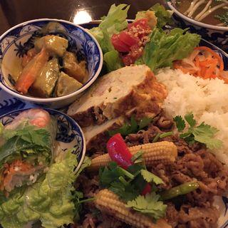 コムビンザン(Restaurant RIVE GAUCHE (レストラン リヴ・ゴーシュ))