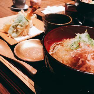 野菜天婦羅と越前おろし蕎麦膳(ふくい 望洋楼 青山店 )