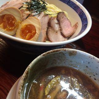肉玉つけ麺(にぼっしー中華そば家 )