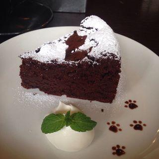 くろねこガトーショコラ(カフェイチマルマルイチ (Cafe1001))